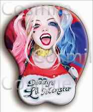 Harley Quinn Suicide Squad Batman Mouse Mat Pad 3D Bust Christmas Gift Limited