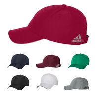 New! Adidas Performance Relaxed Poly Cap Adjustable Mid Profile Six Panel A605