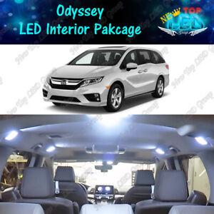 17x White Interior LED Light Package Kit for 2011 - 2020 2021 2022 Honda Odyssey