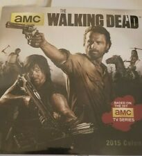 Walking Dead 2015 Wall Calendar Calendar New AMC Sealed