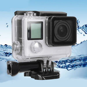 For Go Pro Hero 4 Housing Case Waterproof Diving Protective Cover UnderwateODMO