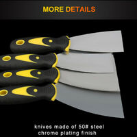 Paint Scraper Putty Knife Wallpaper Stripper Stainless Steel 4 Size Available AU