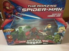 2012 Hasbro Marvel Super Hero Squad Spider-man Escape from Lizard's Lair  (New)