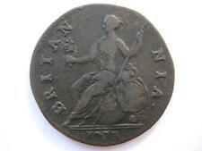 1773 George III Evasion/Non Regal Halfpenny, VF.