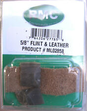Imported English (2) Flints 5/8 Inch Hot Spark With Jaw Leather-Flintlock Rifle
