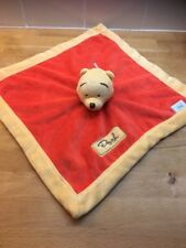 Winnie The Pooh Disney Baby Comforter Comfort Blanket Soft Plush Toy Vgc (3)