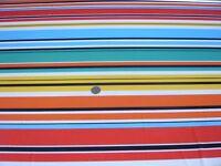 Elástico Estampado Jersey-Bright Rayas Multicolor - Tejido