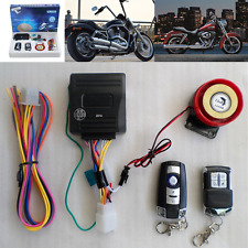 Motorcycle Scooter Security Alarm System Anti-theft Remote Control Engine Start