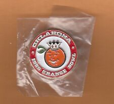 1986 Orange Bowl Game Site Lapel Pin Oklahoma Sooners Unsold Stock