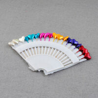 Colorful Pearl Head Sewing Pins Dressmaking Straight Pins Clothes 1pc(18Pins)