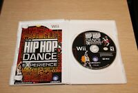 The Hip Hop Dance Experience (2012) Nintendo Wii COMPLETE TESTED WORKS FREE SHIP