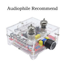 HiFi 6J1 Tube Preamplifier Amplifier Board Class A Pre Amp Crystal ShellEP*