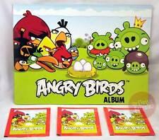 ANGRY BIRDS Sticker Album + 3 sticker packs set NEW * collector book + poster