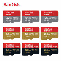 Sandisk Micro-SD Memory Card for Oppo A53, A55, A72, A73, A9, A91, A93 Phones