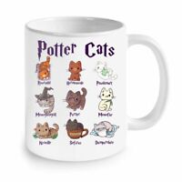Potter Cats Cute Harry Pawter Kitten Gift For Her Coffee Mug 11oz