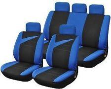 Funda desde asientos coche en negro / azul universal
