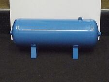 Air Receiver 10 Litre Pressure Vessel , Horizontal Pneumatic Tank ,11 Bar Max