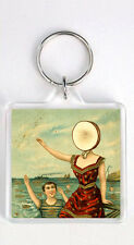 NEUTRAL MILK HOTEL - IN AN AEROPLANE OVER THE SEA LP COVER KEYRING LLAVERO