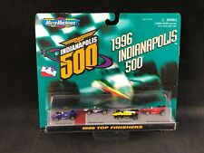 Micro Machines Indianapolis 500 1996 Top Finishers Sealed Card 74972 Galoob