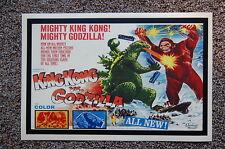 Godzilla vs. King Kong Lobby Card Movie Poster