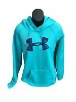 UNDER ARMOUR WOMEN'S SEMI FITTED  HOODIE JACKET  MD M MEDIUM BLUE