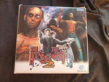 HOUSE OF THE DEAD 2 with GUN Sega Dreamcast Game Box Set