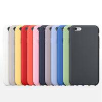 Ultrafina De lujo Original Funda De Silicona para Apple iPhone 6 6S Plus