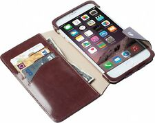 Krusell iPhone 6 Plus Wallet / Cover / Case - Brown LEATHER / iPhone 6+