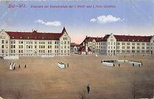 Kiel Wik Kaserne Exerzierplatz I.Werft und Torpedo Division Kaiserliche Marine