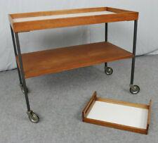 True Vintage - Servierwagen Rollwagen Beistelltisch *Mid Century Trolley 60s 70s