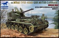 Bronco 1/35 US M19A1 Twin 40mm Gun Motor Carriage Korean War Model Kit