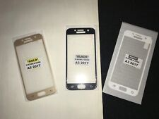 3D Full Cover Tempered Glass Screen Protector Samsung 2017 A3 A5 J3 J5 3 colour