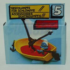 PUFFO PUFFI SMURF SMURFS 40070 Playsat 5. Sail Boat Smurf Barca dei Puffi 1A b1