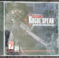 Tom Clancy's Rainbow Six Rogue Spear Mission Pack: Urban Operations (PC, 2000)
