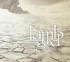 LAMB OF GOD RESOLUTION CD ALBUM 14 TRACKS DIGIPAK NEU & OVP
