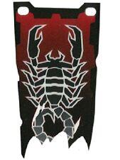 LEGO - Plastic Flag 4 x 9 with Knights Kingdom II Scorpion Pattern