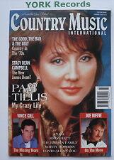 COUNTRY MUSIC INTERNATIONAL MAGAZINE - February 1996 - Pam Tillis / Vince Gill