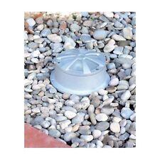 Diffusore in Alluminio NERO (No Grigio) da giardino IP54  + LAMPADA G9 40W 230V