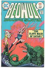 Beowulf Dragon Slayer 2 DC 1975 VF Slave Maid Of Satan Skull