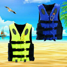 Kids Adult Life Jacket Fishing Watersport Kayak Ski Buoyancy Aid Sailing Vest