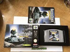 Battletanx Global Assault Game N64 Nintendo 64 Boxed & Complete PAL