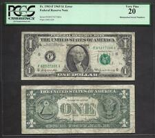 $1 1969 FRN=MISMATCH SERIAL=68/67=ERROR=PCGS VF 20