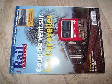 $$ Rail Passion N°114 Caravelles Nuits-sous-Ravières Châtillon-sur-Seine