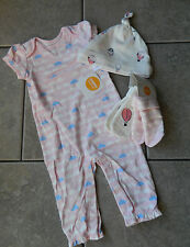 Size 6-12 months outfit Gymboree Brand New Baby,3 pc. set,NWT,romper,hat,socks