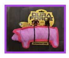 Dura Force Pink Pig Dog Toy