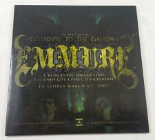 Emmure - Goodbye to the Gallows RARE 2007 PROMO SLIPCASE CD Victory Sampler