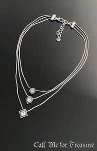 Brighton Twinkle Trio layered choker necklace