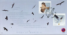 Namibia Birds on Stamps 2020 FDC Kites Yellow-Billed Kite Birds of Prey 2v Set