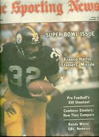 1979 Sporting News SUPER BOWL XIII PITTSBURGH STEELERS No Label FRANCO HARRIS