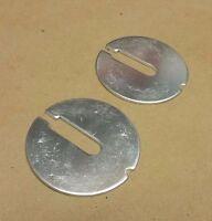 2 Rear Notch Bandsaw table insert Delta 14 Part 426-02-063-0001 426-02-063-0002